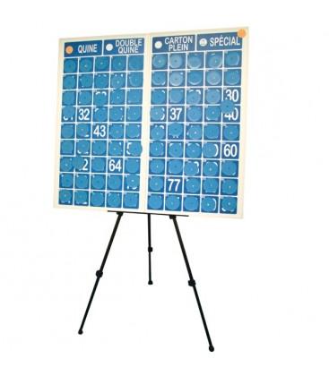 panneau magn tique loto avec chevalet bingoloto tout pour le loto. Black Bedroom Furniture Sets. Home Design Ideas